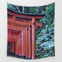 Inari Gates Galore Wall Tapestry