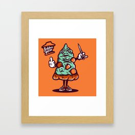 Jabba The Hutt Framed Art Print