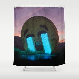 Cry out loud Shower Curtain