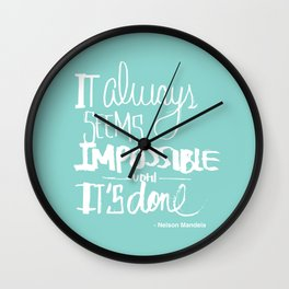 It's possible Wall Clock