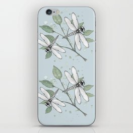 Two dragonflies iPhone Skin