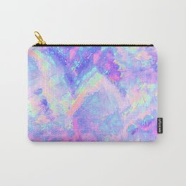 Pink Gemstone Carry-All Pouch