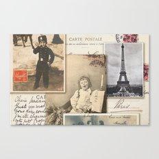 Postale Canvas Print