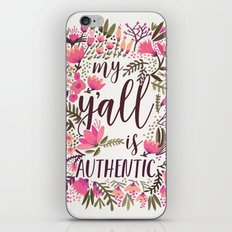 My Y'all is Authentic – Vintage Palette iPhone & iPod Skin