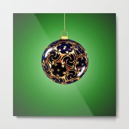 A Merry Christmas to All! Metal Print