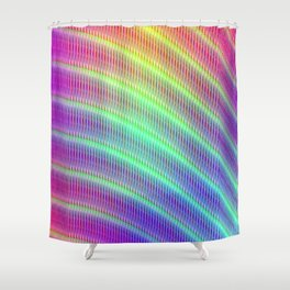 Abstract pattern no. 4 Shower Curtain