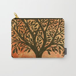 Tree Of Life Warm Tones Carry-All Pouch