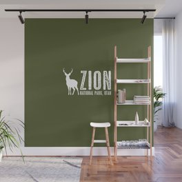 Deer: Zion National Park, Utah Wall Mural