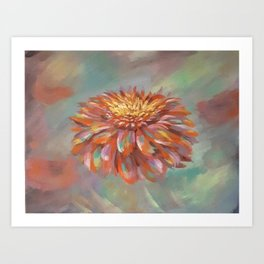 Colorpop Flower Art Print