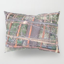 Ghost town rubble Pillow Sham
