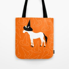 Witch Hat Unicorn Tote Bag