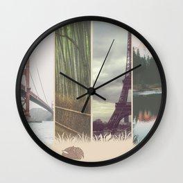 Deer Dreamer Wall Clock