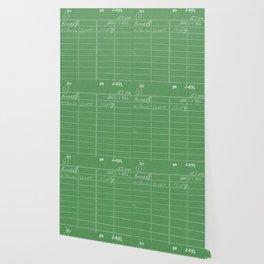 Library Card 797 Negative Green Wallpaper