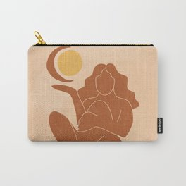 The Sun, The Moon and a Woman Carry-All Pouch