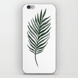 Palm Branch Art iPhone Skin
