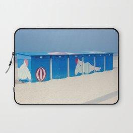 Beach cabins Laptop Sleeve