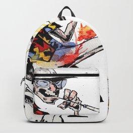 Hunter S Thompson by BINDU Backpack