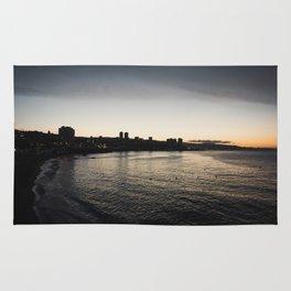 Viña del Mar by Night Rug