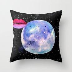 Lover Moon Throw Pillow