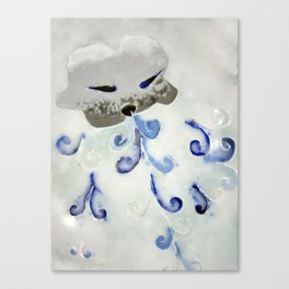 Creature of Air (The North Wind) Canvas Print