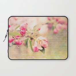 Blossoming Love Laptop Sleeve