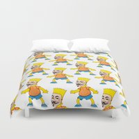 anonymous Duvet Covers featuring Anonymous by Daniel Cash