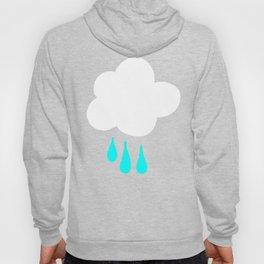 Rain Cloud Pattern Hoody