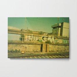 Frankfurt Hbf Metal Print