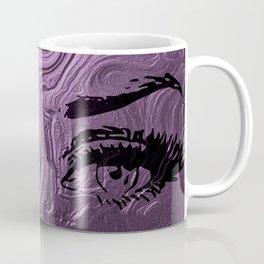 Super purple glam lashes Coffee Mug