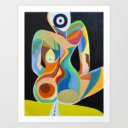 """Sitting In the Dark""  Art Print"