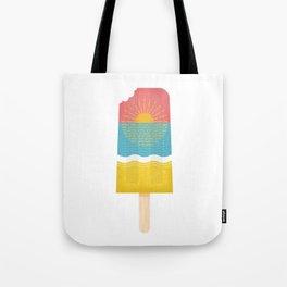 popsical sunset Tote Bag
