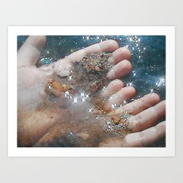 All is Dust Art Print
