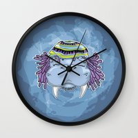 marley Wall Clocks featuring Marley by Lauda Images