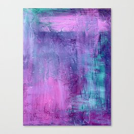 Purple Haze Background Canvas Print