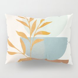 Soft Abstract Shapes 02 Pillow Sham