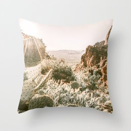 BOHO Desert Heaven Throw Pillow