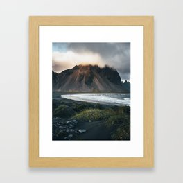 Stokksnes Iceland Framed Art Print