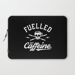 Fuelled By Caffeine Laptop Sleeve