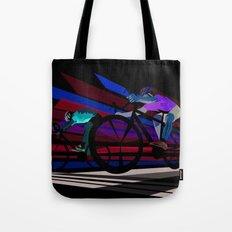 Illustration Graphic Design: Finish Line Tote Bag