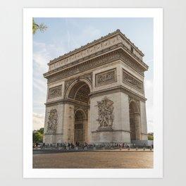 Arc de Triomphe I Art Print