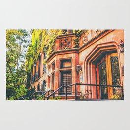 New York City Autumn Pumpkin Rug