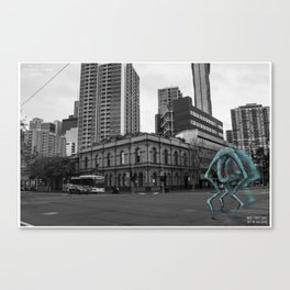 Unseen Monsters of Melbourne - Chuck Kelly Canvas Print