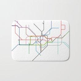 London tube Bath Mat