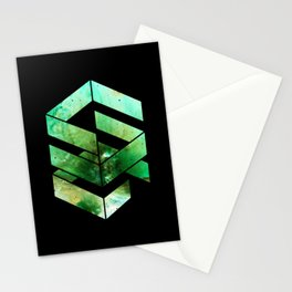 Abstract Space - version 2 - inverted Stationery Cards