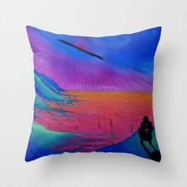 Vision Quest Throw Pillow