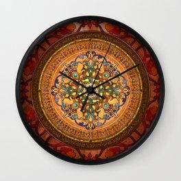 Mandala Arabia Wall Clock