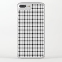 MacFarlane Tartan Clear iPhone Case
