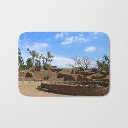 Aztec Ruins New Mexico Bath Mat