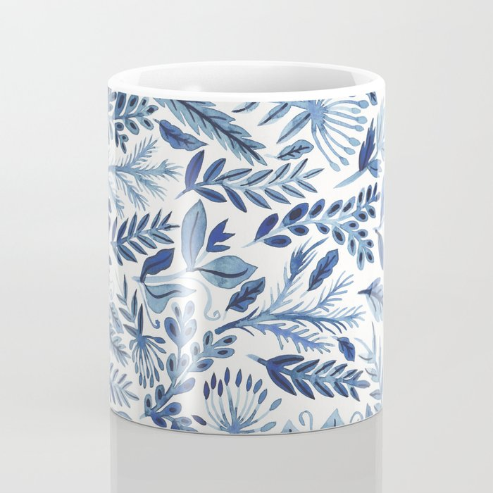 indigo scatter Coffee Mug