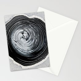 The Hole (Black and White) Stationery Cards